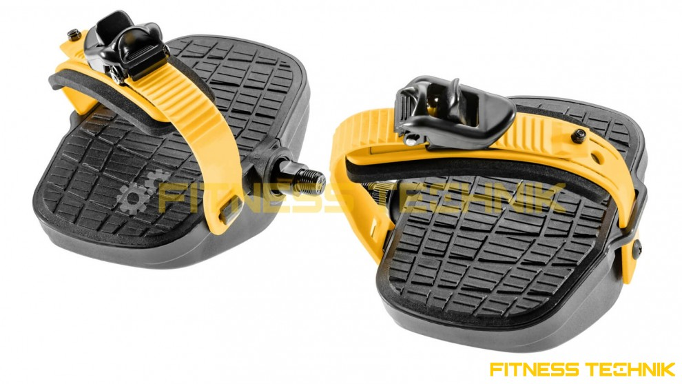 Fitness Bike Pedals model FT41 - profile view
