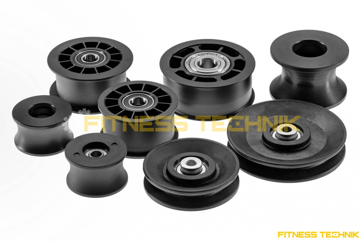 Cable Pulley 90 mm for Fitness Equipment - profile