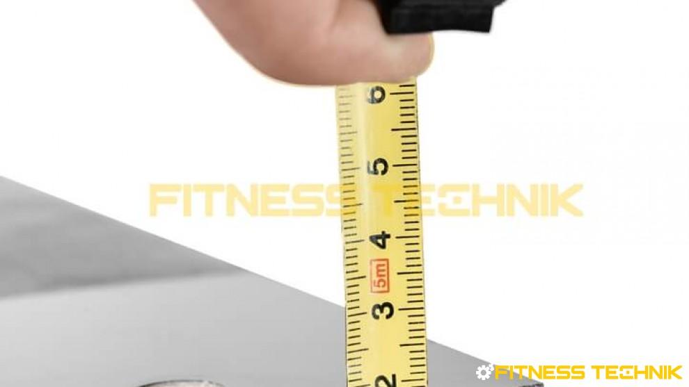 Płyta do bieżni Life Fitness 95T - widok profilu