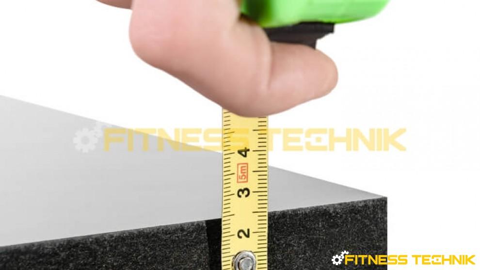 Matrix T3x Treadmll Deck - thickness of treadmill