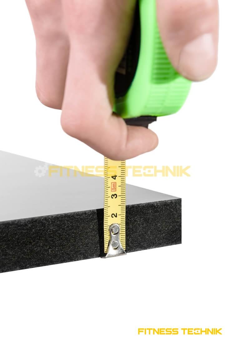 Cybex 445T Treadmill deck thickness 1 inch