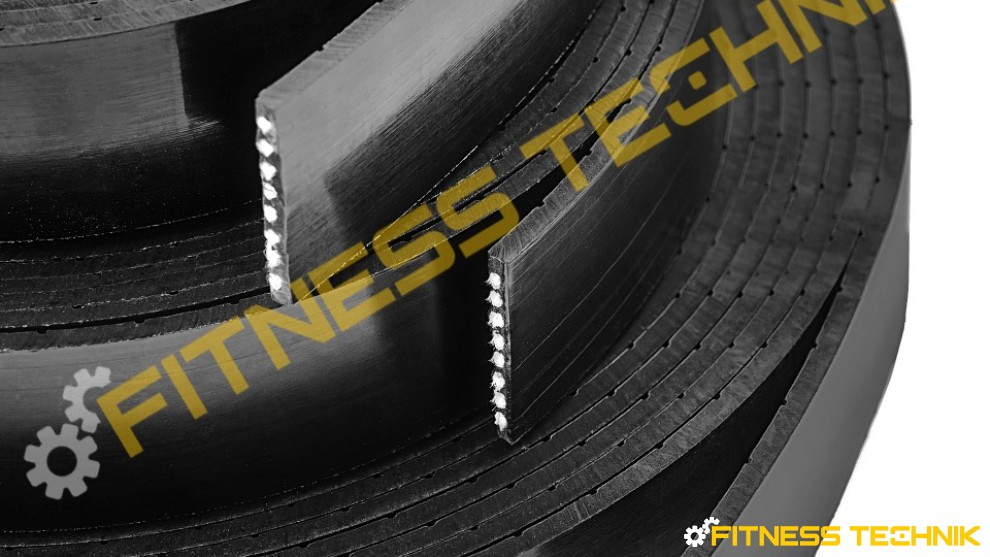 Kevlar belt for fitness strength equipment