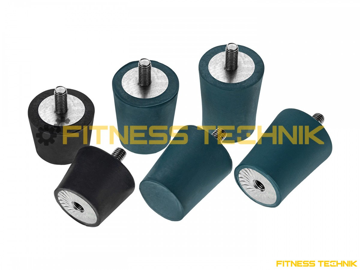 Shock absorption system for deck Impulse Fitness t