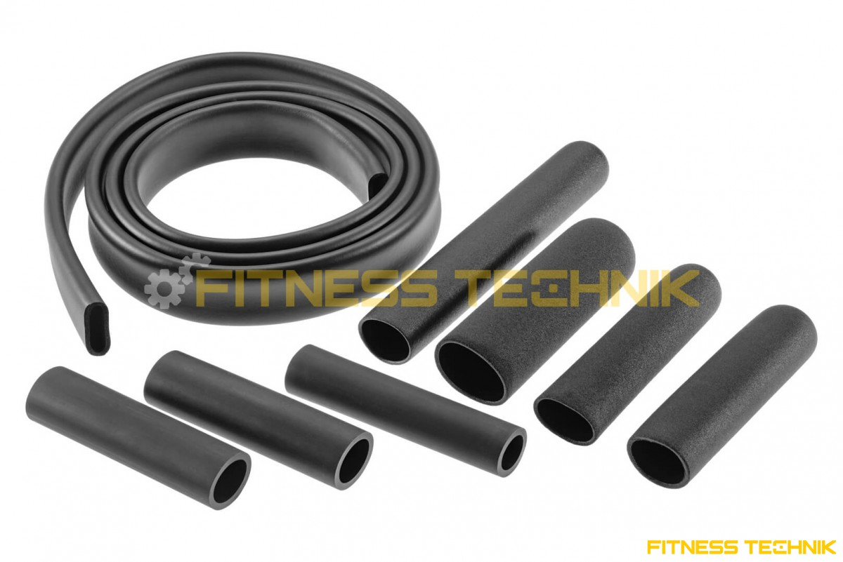 Rubber grips for fitness machines