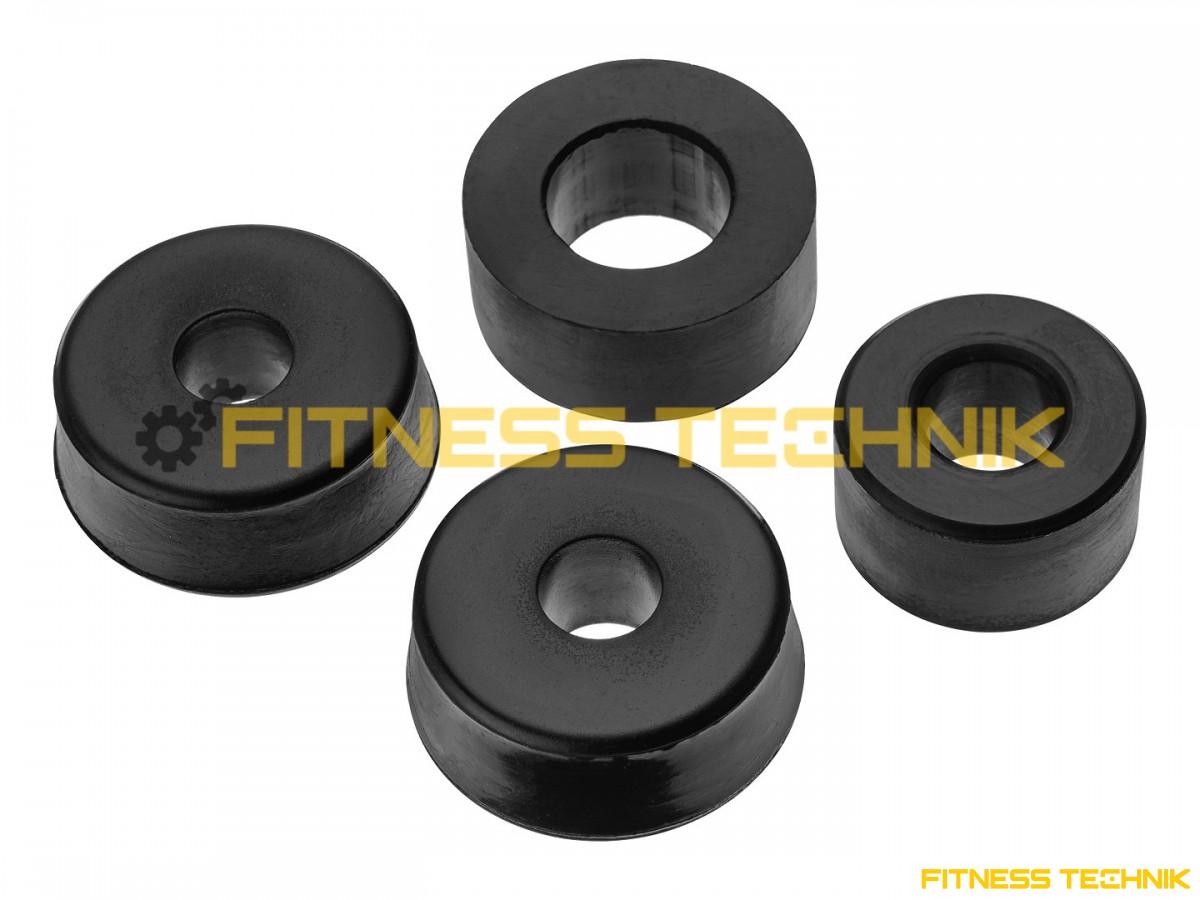 Rubber buffer block used in weight stack fitness e
